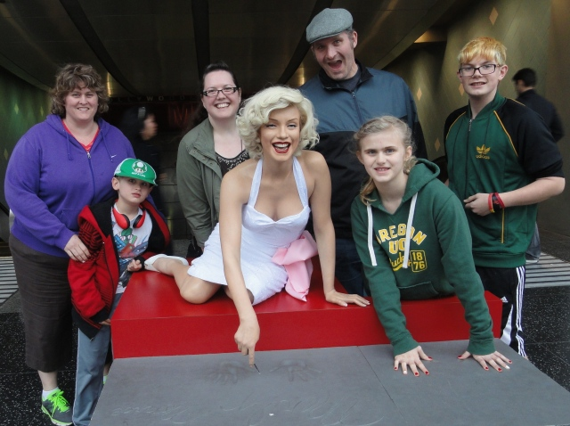 All of Us in Hollywood with Marilyn Monroe