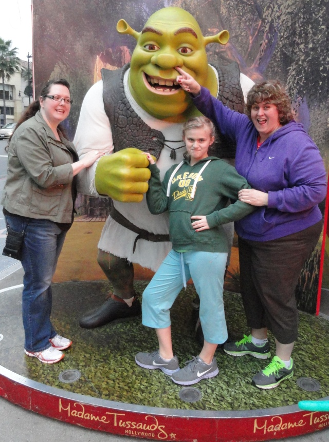 The Girls with Shrek